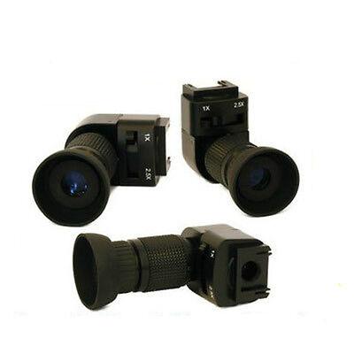 1x-2x buscador de ángulo Para Nikon D300 D200 D90 D80 D60