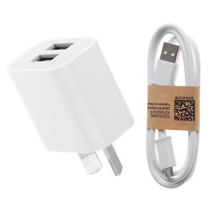 5V-2A-AU-Plug-USB-Travel-Wall-Charger-Adapter-Micro-USB-Cable-for-Phone-Tablet