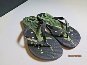 1a483ab970f3 Havaianas - Men s Black 4 Nite Shark Flip-flops Slip-On