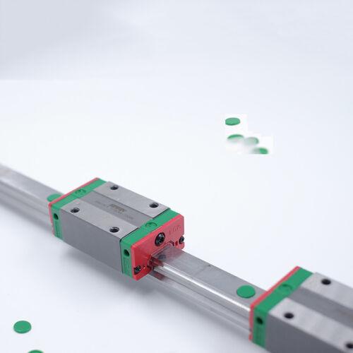 EGR15 Linear Rail Guide HIWIN L400mm 2pc EGH15CA Block Slider CNC Woodworking