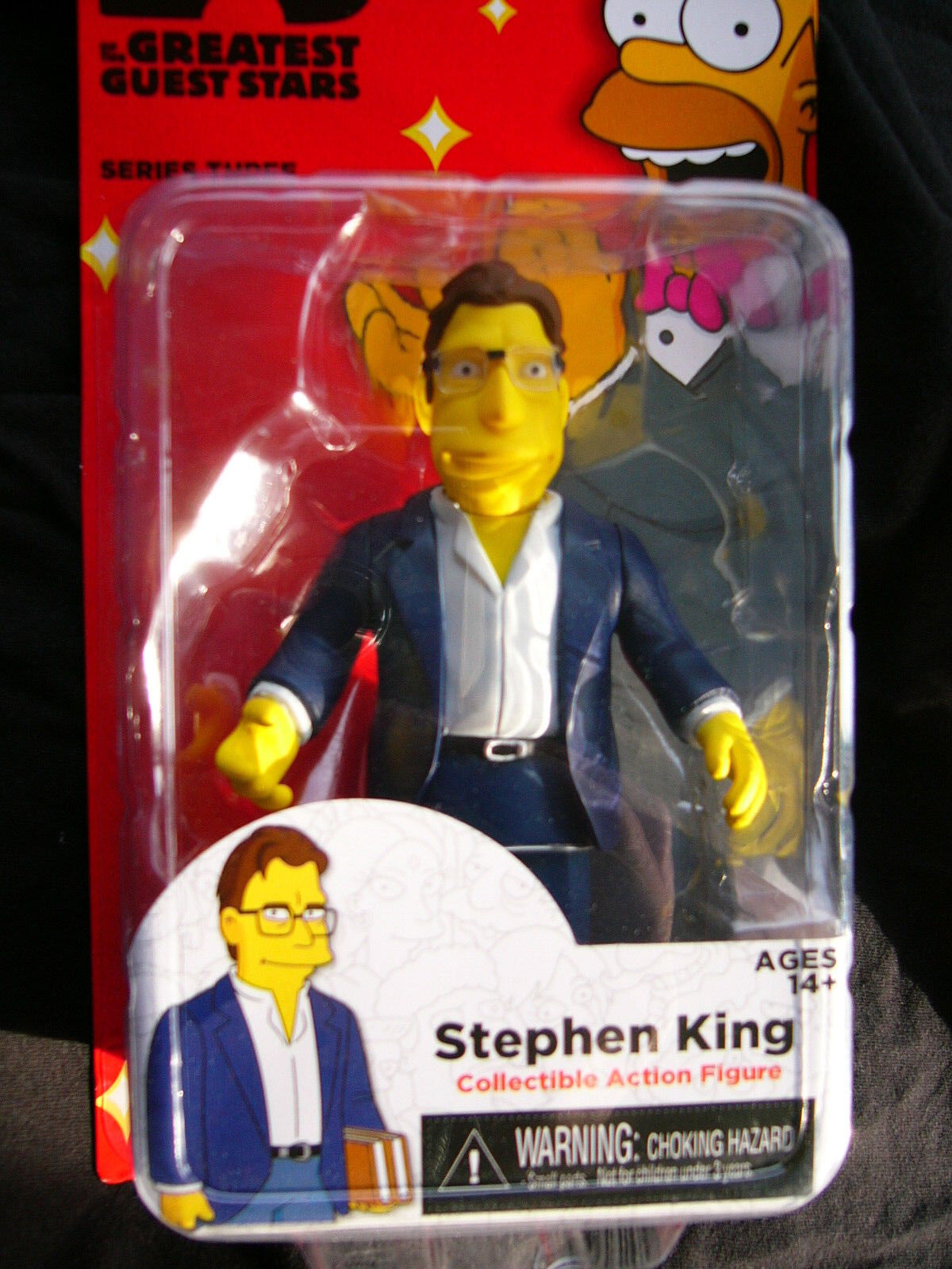 Neca - Simpsons - 25 of the Greatest - Guest Stars - Greatest Series Three - Stephen King 4b363a
