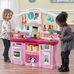 Details about Kid Kitchen Ultimate Large Kitchen Toy Cooking Pretend  Toddler Playset Role Play