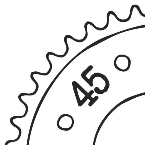 Antriebsketten & ritzel fürs Motorrad SC24 Kettenrad 45