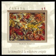 "CANADA 1749 - ""Le tumulte a la machoire crispee"" by Marcel Barbeau (pa48453)"