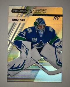 2020-21 UD Synergy FX Rookies #FXR-MD Michael DiPietro RC /749