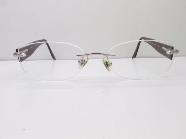 Marchon Airlock 2 Al800/116 Eyeglasses Frames 52-18-135 Gold Rimless ...