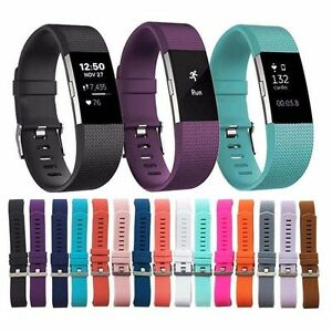 New-Replacement-Silicone-Sports-Watch-Band-Strap-Bracelet-For-Fitbit-Charge-2