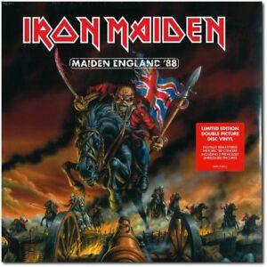 Iron-Maiden-Maiden-England-039-88-New-Ltd-Edn-Double-Vinyl-Picture-Disc-LP