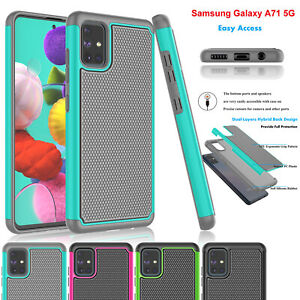 For-Samsung-Galaxy-A71-5G-Case-Hybrid-Shockproof-Rubber-Plastic-Protective-Cover