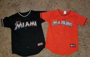 81c817963 Image is loading 2-Majestic-Giancarlo-Stanton-27-Miami-Marlins-Orange-