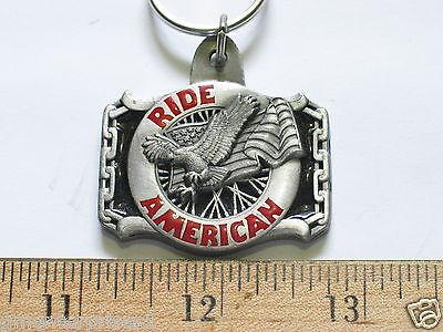 Bright Ride American Motorrad Auto Schlüsselanhänger