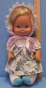 Vintage 1975 1978 Mattel Baby Doll Soft Plastic Blonde