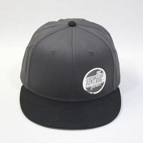 New Premium Plain Cotton Twill Adjustable Flat Bill Snapback Hats Baseball Caps