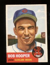 1953 Topps Bob Hooper #84 Baseball Card