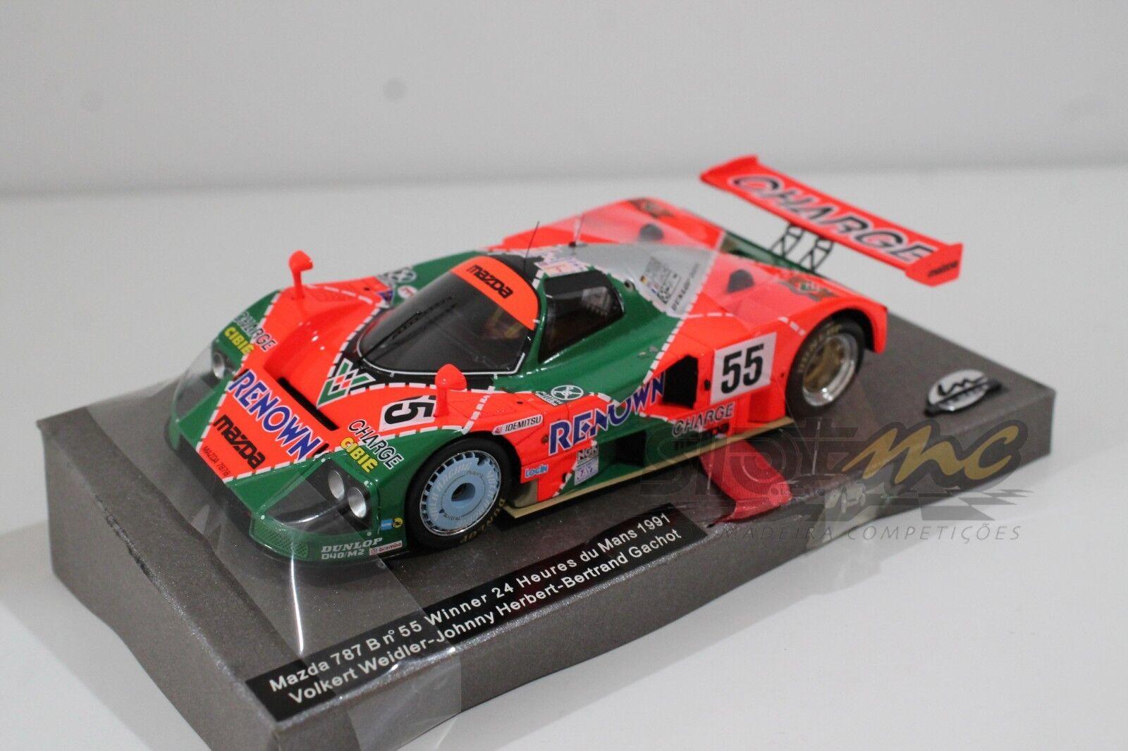 Le Mans Miniatures 132026M Mazda 787B Le Mans 1991 Winner 1 32   NEW
