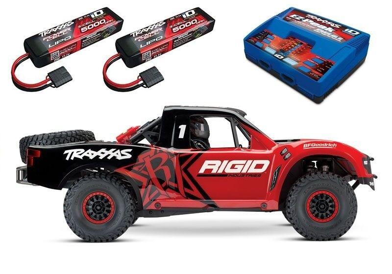 Traxxas Unlimited Desert Racer pro-scale 4x4 racing Truck rojo rse1