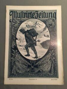 """25.11.1915 Weber Kriegsnr """"illustrirte Zeitung"""" Motiviert 69 Den Speichel Auffrischen Und Bereichern Verlag J J"""