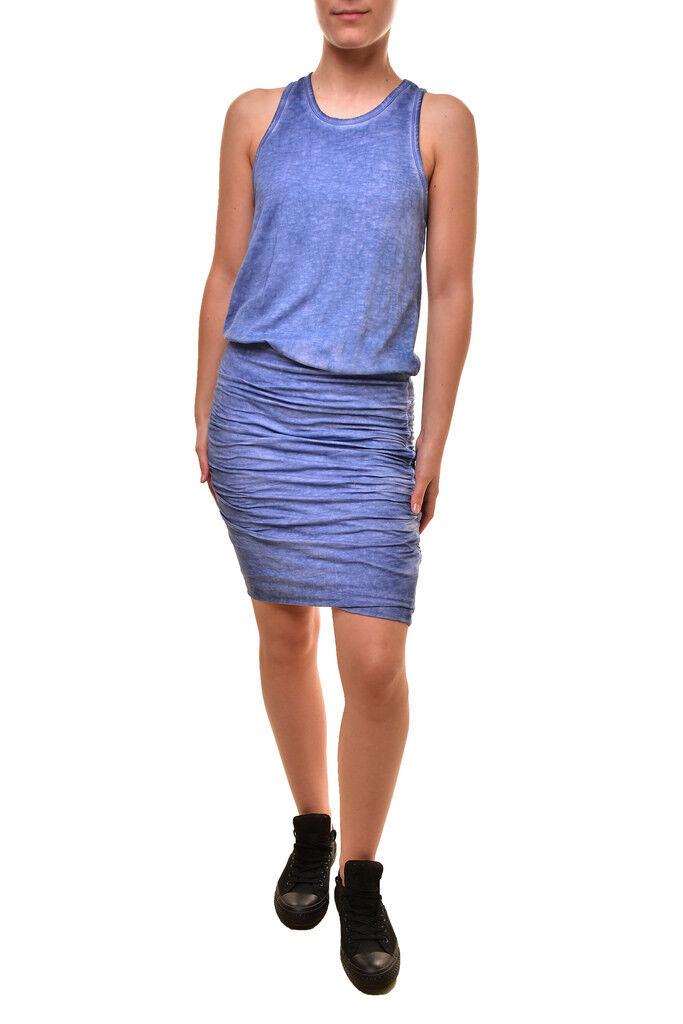 Sundry damen Resort Sleeveless Cozy Dress Cha Oil Blau Größe M