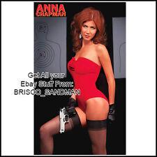 Fridge Fun Refrigerator Magnet ANNA CHAPMAN REDHEAD RUSSIAN SPY: Photo C SEXY!!