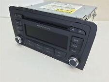 8P0035195Q Audi A3 8P Autoradio Audi Symphony II MP3 6 CD-Wechsler USA (041)