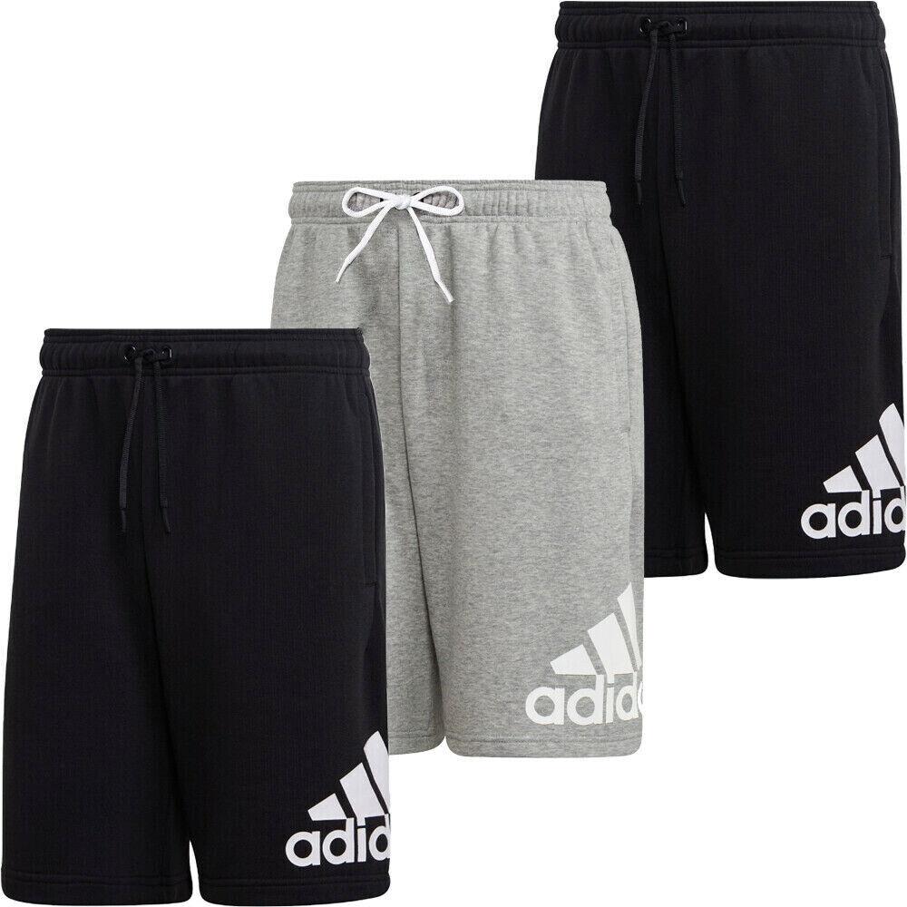 Adidas Mens Shorts Must Haves Badge Sports Training Casual Short Pocket Black