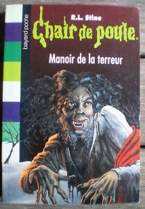 Details Sur Livre Manoir De La Terreur De R L Stine Des 10 Ans Collection Chair De Poule