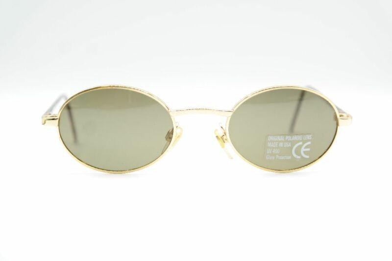 Symbol Der Marke Vintage Inkognito 4971 Gold Braun Rund Sonnenbrille Sunglasses Brille Nos Dinge Bequem Machen FüR Kunden