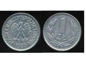 POLOGNE  1 zloty  1983