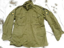 ORIGINAL early type US army issue M65 M 65 COAT FIELD jacket VIETNAM war OG L