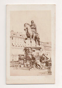 Vintage-CDV-the-monument-to-the-Great-Elector-on-horseback-Berlin-Germany