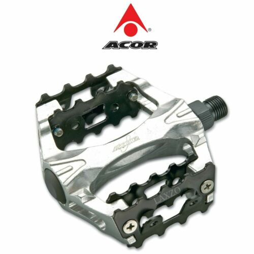 Acor Alloy Body//Steel Cage Heavy Duty MTB BMX Bike Pedals 9//16/""
