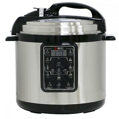 New Multifunction 6.3QT Electric Pressure Cooker Stainless Steel Programmable 0P