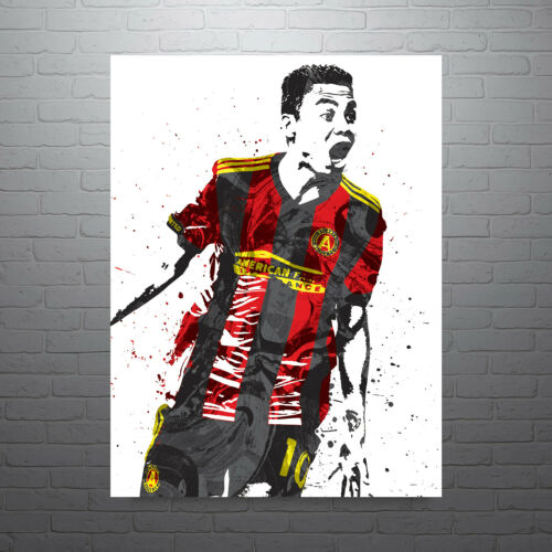 Miguel Almiron Atlanta United FC Soccer Poster FREE US SHIPPING