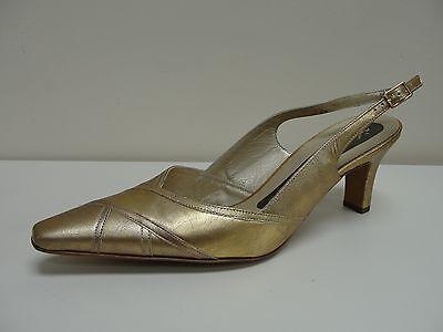 Zapatos de Cuero Peter Kaiser Medea de Oro, Reino Unido 5/EU 38, RRP £ 105, BNWB