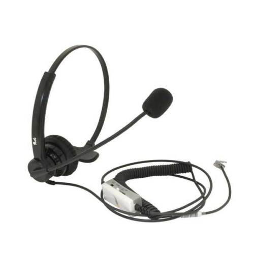 Noise Canceling Rotatable Microphone Mute Volume Zultys IP phone headset