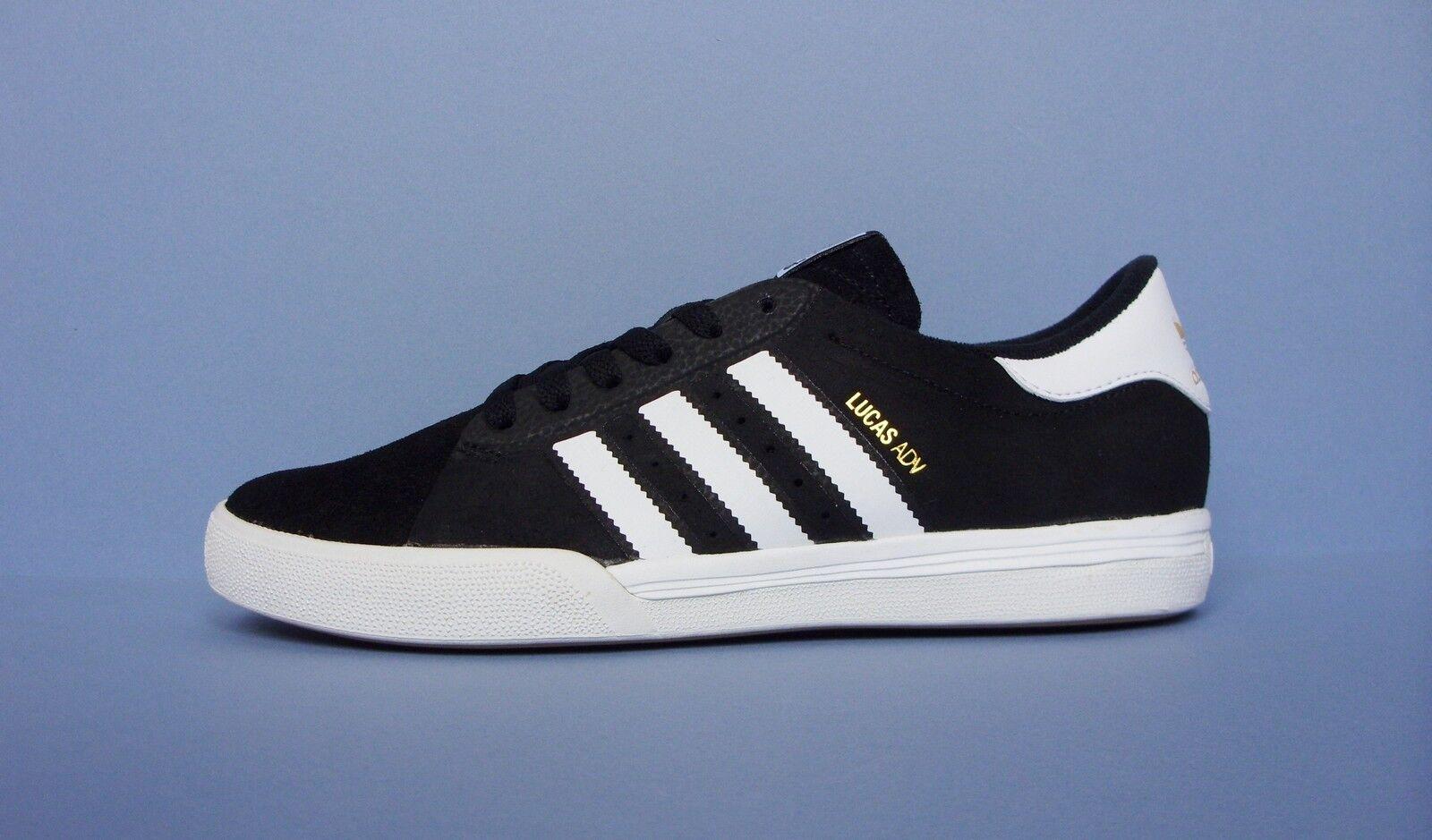 ADIDAS ORIGINALS LUCAS Adv Da Uomo Sport Skate Shoes nero taglia