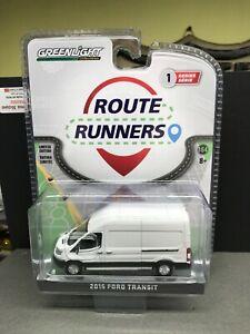 Greenlight Route Runners Series 1 2015 Ford Transit Van 53010-A NIB
