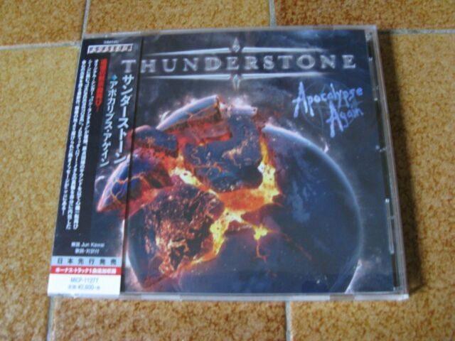 THUNDERSTONE - Apocalypse Again (2016) (Original CD Japan) - OBI - MICP-11277