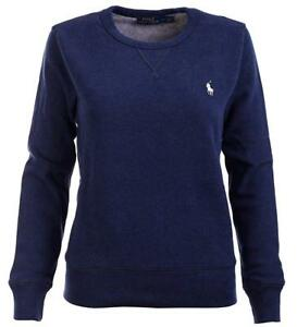 Details Polo About Sweatshirt Pullover M Xl S Lauren Womens L Ralph Medieval New Fleece Blue wiTZuXOPkl