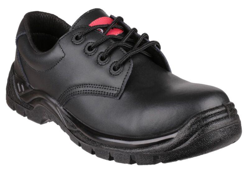 Centek Negro Con Cordones Hombre Metal Gratis Zapato De Seguridad Varias Tallas