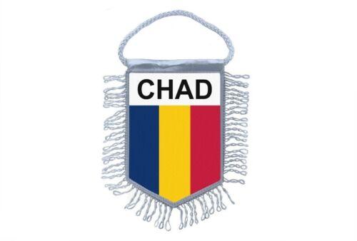 club flag mini country flag car decoration tchad chad