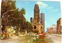 KuDamm Kaiser Wilhelm Gedächtniskirche Berlin Ansichtskarte 50er 60er Jahre 01 å