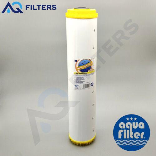 """Aquafilter FCCST20BB FCCST Water Softening Cartridge Big Blue BB Jumbo 20/"""""""