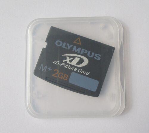 Genuino Nuevo 10 X 2gb Xd Foto Tarjeta de Memoria Olympus M-XD2GMP M
