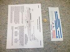 Avigraphics  decals 1/200 AG2020 Piedemont Boeing 767-201ER  H70
