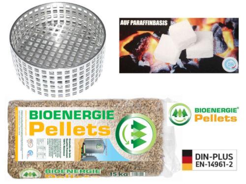 Hiver-Sérénité-Paquet: anzündhilfe xt-1 + Allume-cigare + 15 kg Pellets