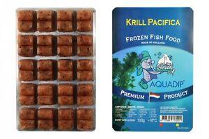 18 X Krill Pacifica Blister de 100 grammes - Aliments de poisson congelé de qualité supérieure 7106586728963