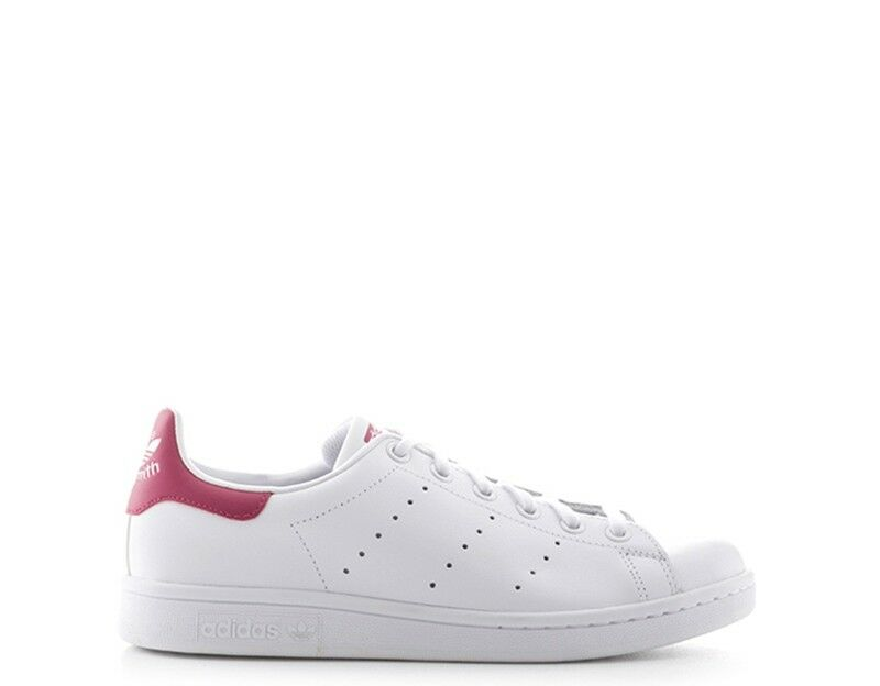 Chaussures Adidas Bianco Nature Cuir b32703