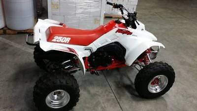 TRX250R 1986 1987 1988 1989 Honda 250 250R ATV Service Workshop Manual