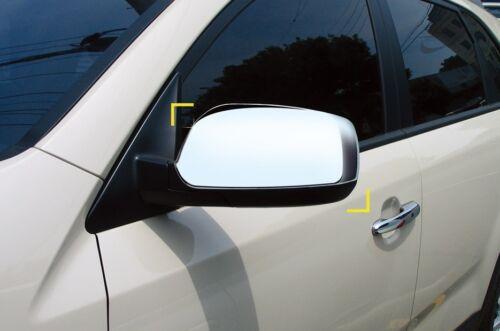 Non LED indicator For Kia Sorento 2010-2014 Chrome Wing Mirror Cover Trim Set